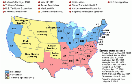 an analysis of slavery in united states northern and southern Examination of the biblical view of slavery enables us to more  in most  northern states and virginia, north carolina, and south carolina.